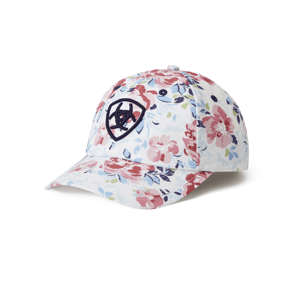 b359f892e77 Ariat Adult Unisex Frolic Cap - Floral - Hats   Headbands from ...