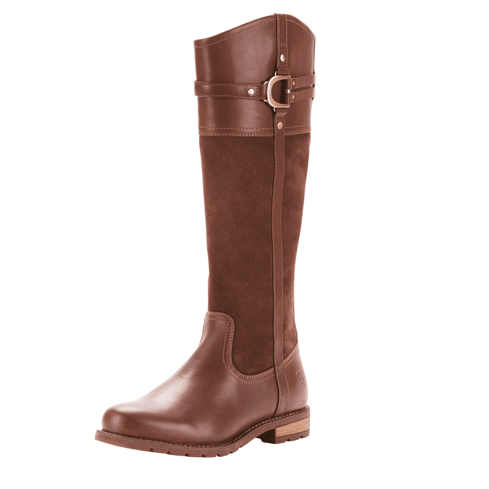 86b534793a4a Ariat Loxley H2O Womens Leather Boots - Chocolate - Footwear from ...