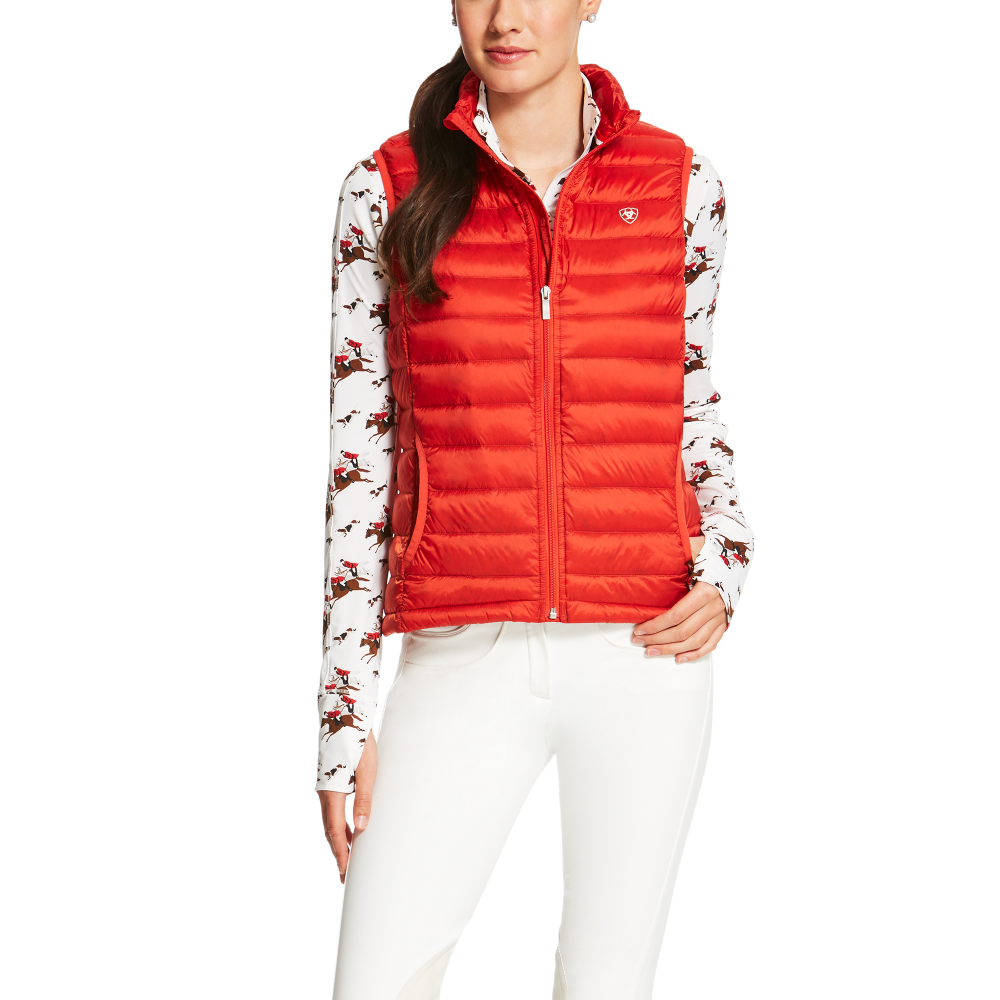 a73c6a6cb83 Ariat Womens Ideal Down Filled Vest - Molten Lava - Clothing from ...