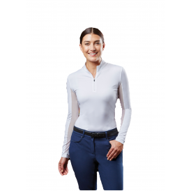 c0365e6ad9a153 Dublin Airflow CDT Womens Long Sleeve Tech Competition Top - White