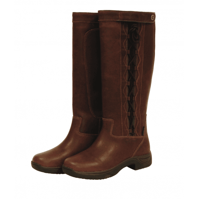 9857c12e74b58 Pinnacle Grain Leather Boots - Red Brown