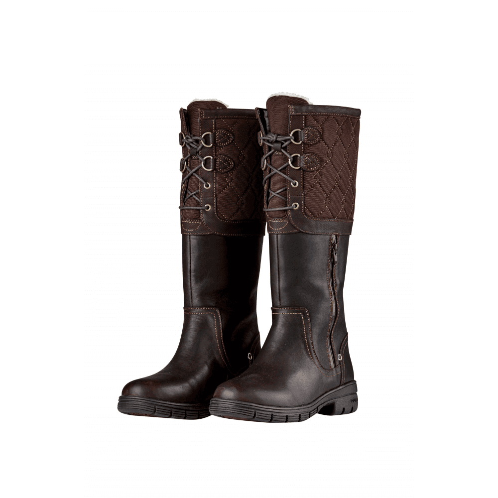f9c7dce6d204 Dublin Teddington Womens Leather Boots - Chocolate - Footwear from ...
