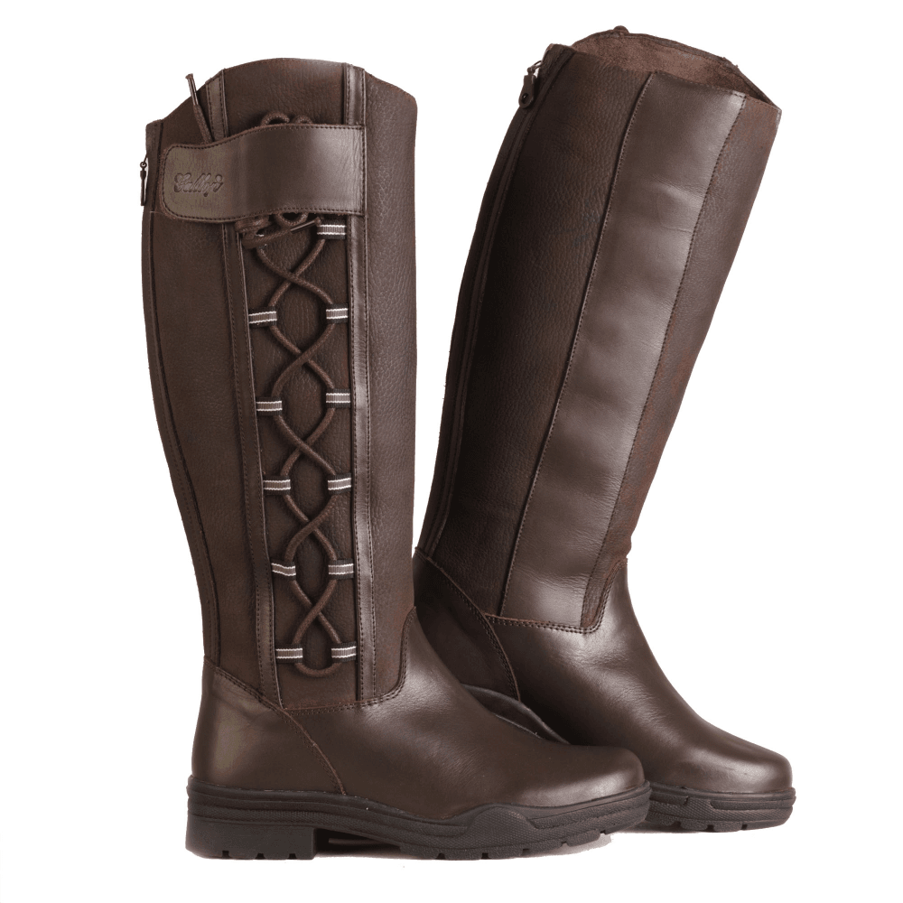 100% genuine good texture huge selection of Gateley Womens Long Country Boot - Brown