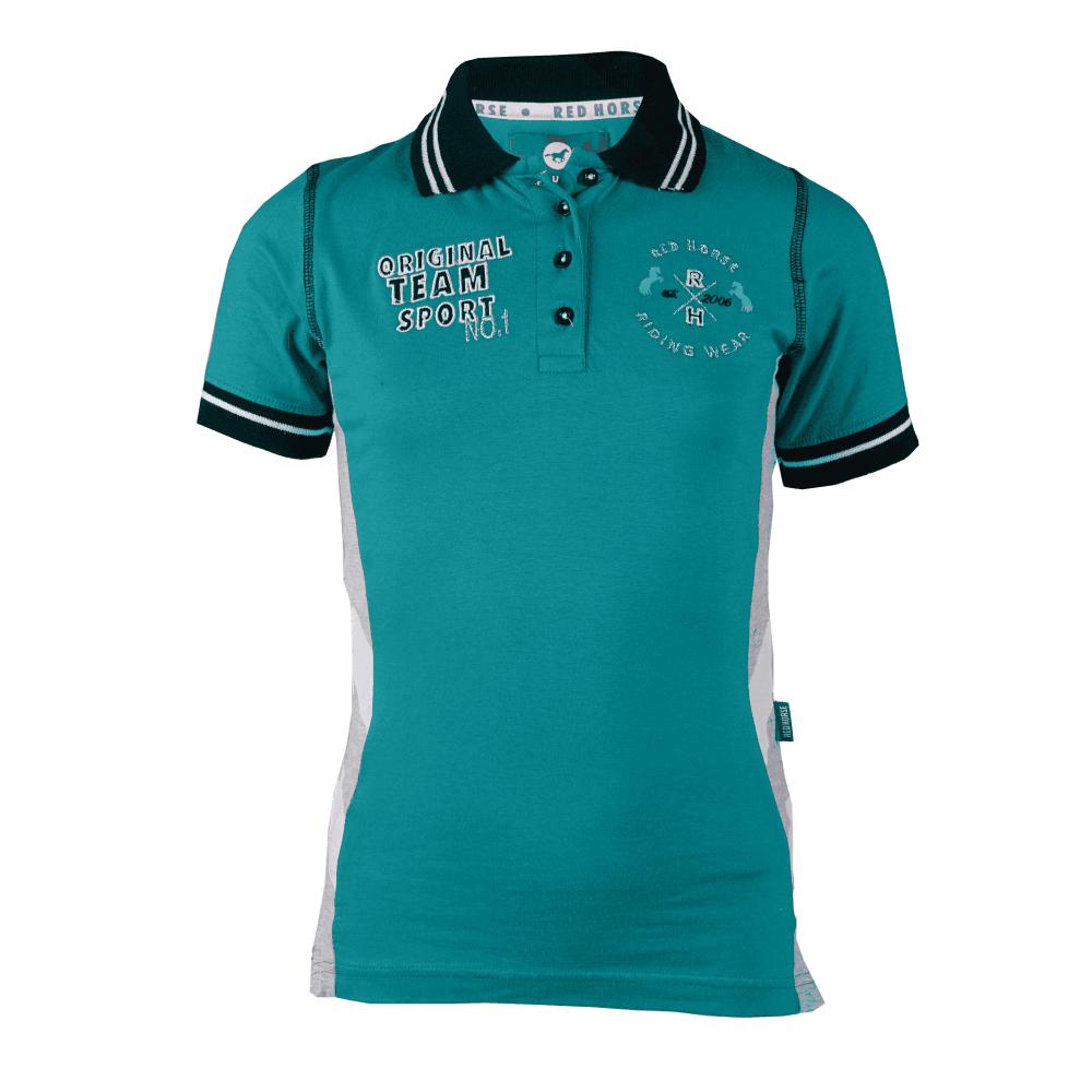 Horka Venice Childrens Polo Shirt Aqua Polo Shirts From Oakfield