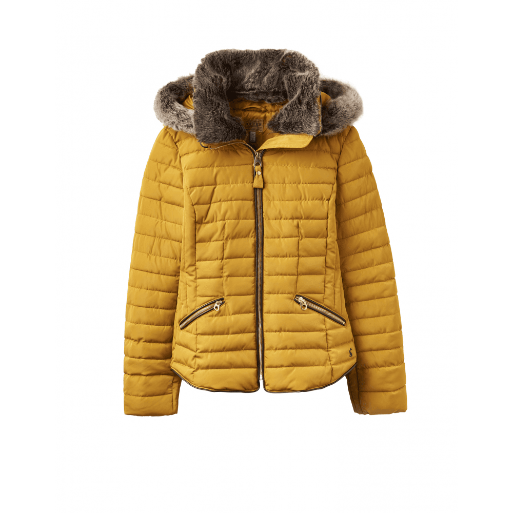 ae7fb3f51c9b31 Joules Gosling Womens Padded Jacket - Caramel - Clothing from ...