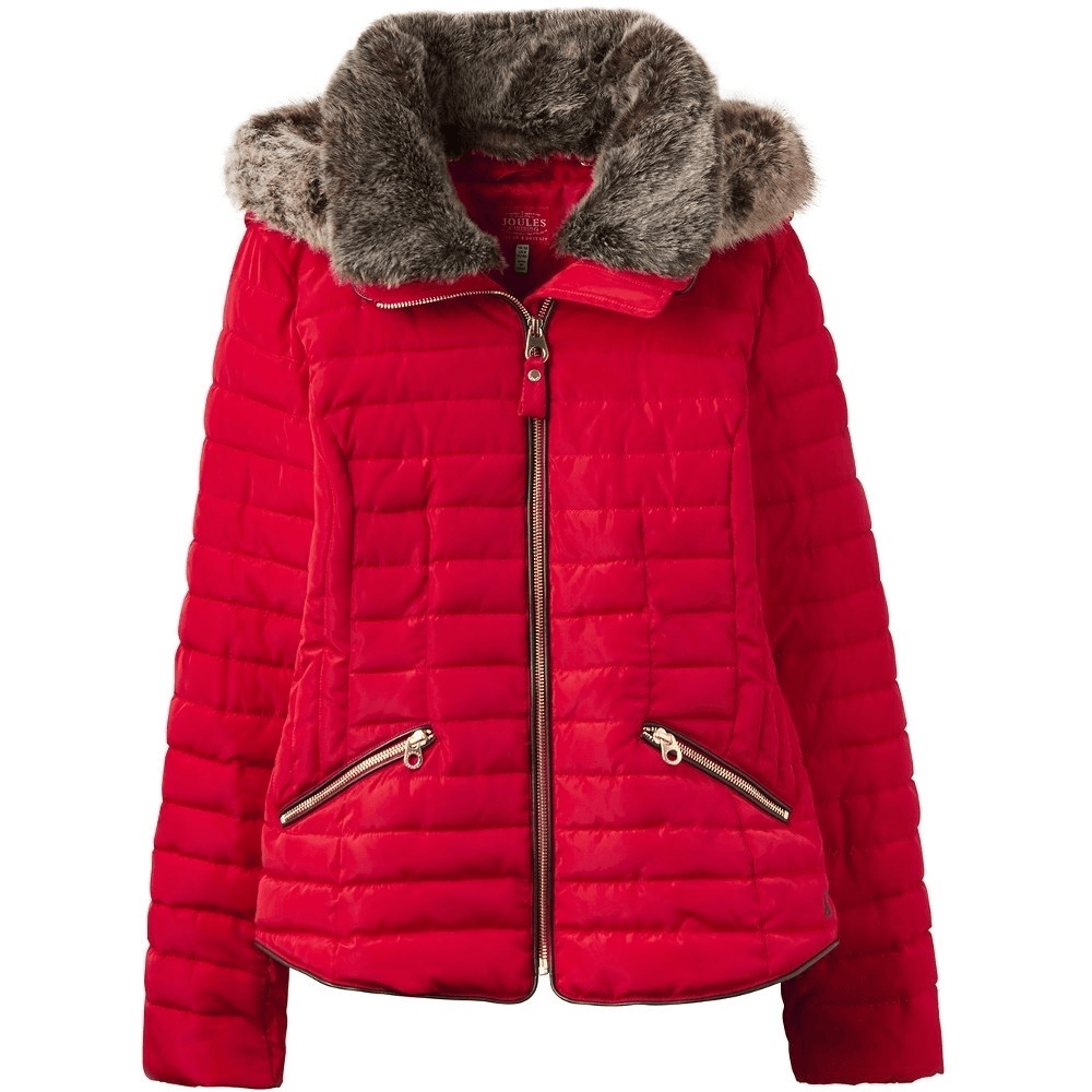 60528ed1a1411a Joules Gosling Womens Padded Jacket - Red - Clothing from Oakfield ...