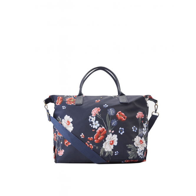Joules Kembry Canvas Holdall Bag - Navy Floral - Gifts from Oakfield ... 6a8ae5427