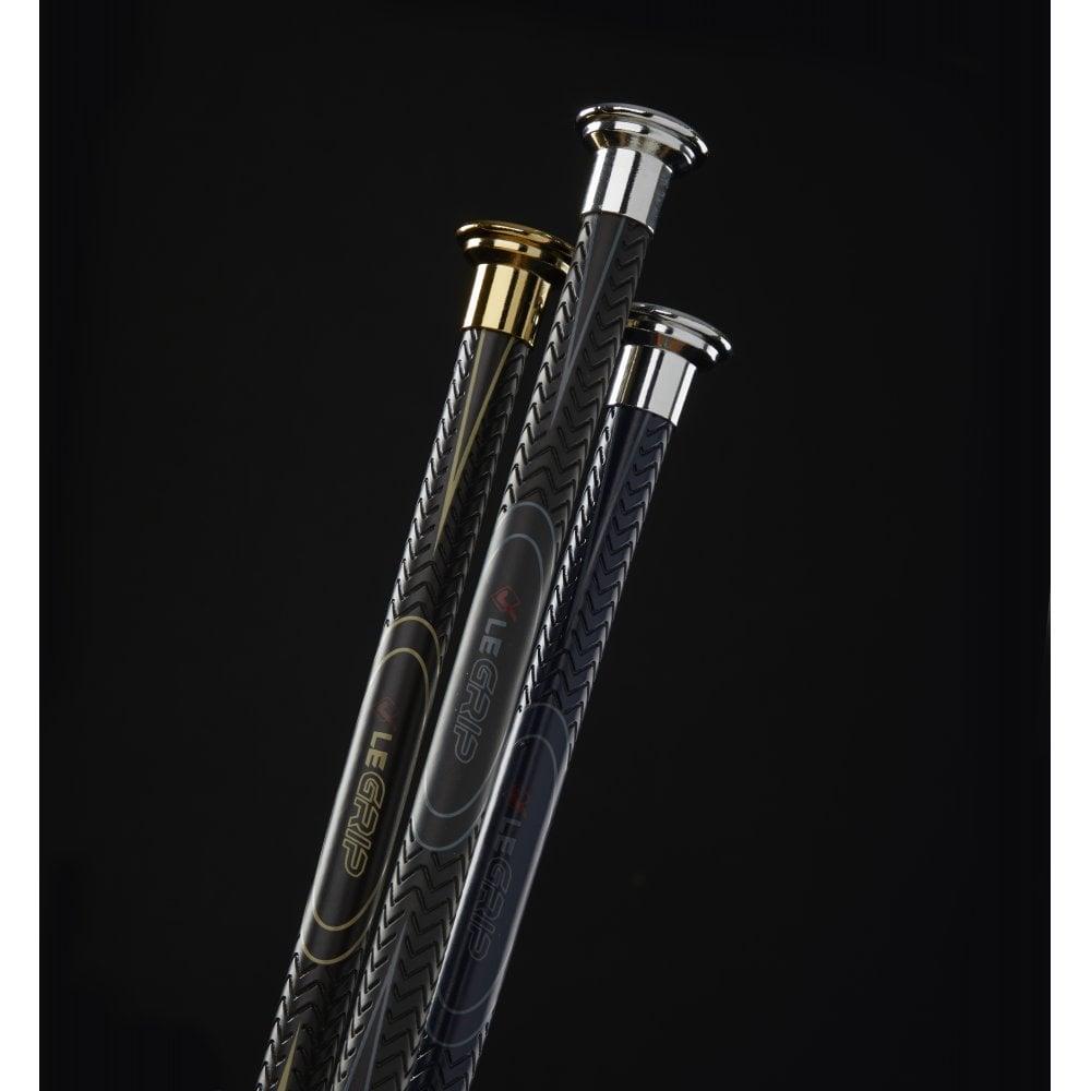 LeMieux LeGrip Short Polycarbon Balance Jumping Bat Whip Black//Brown//Navy 65cm