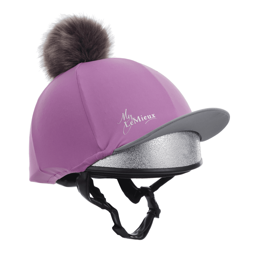 59b7ff8a21e LeMieux Lemieux Pom Pom Hat Silk - Lavender - For The Rider from ...
