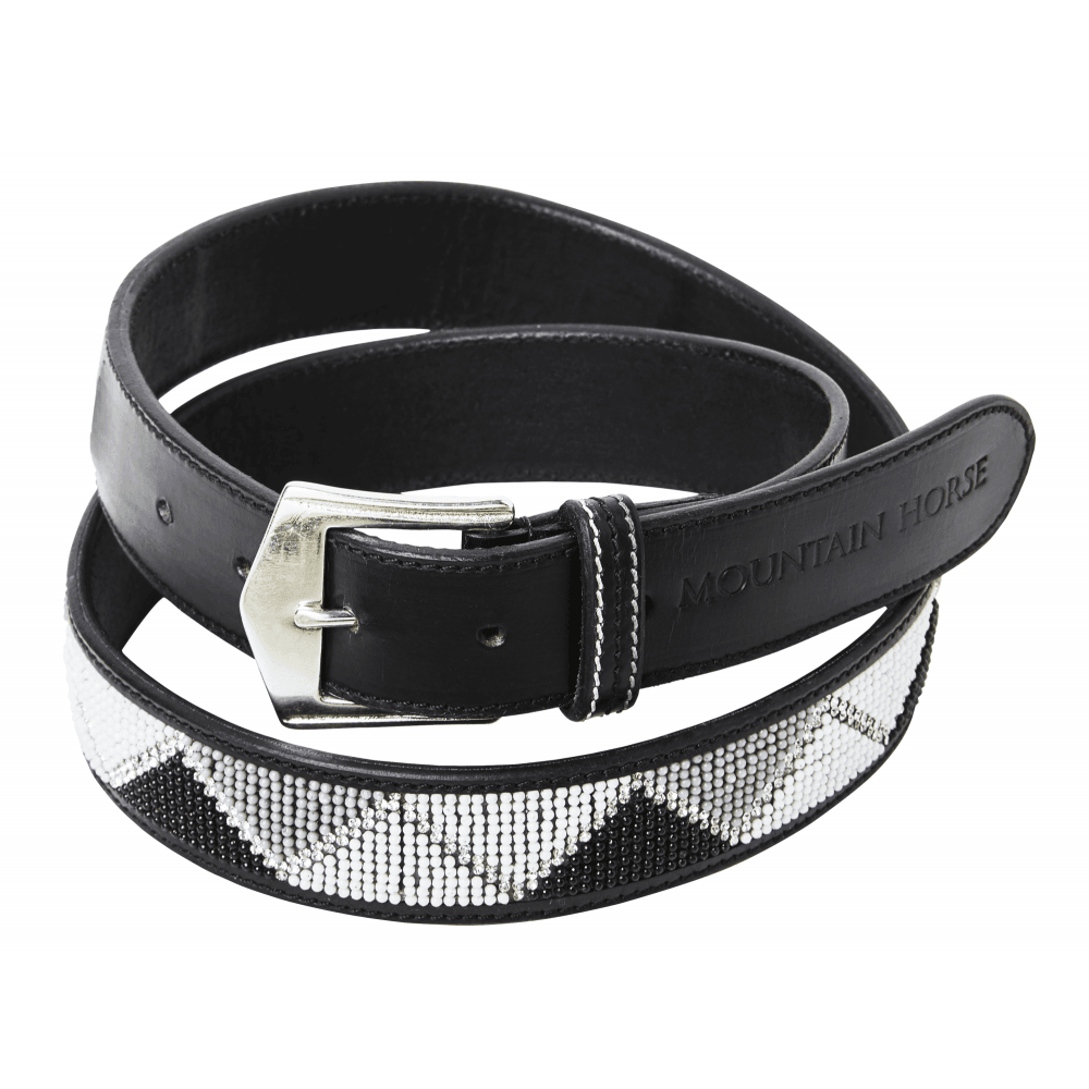 d32adcc7d Glam Bling Womens Belt - Black/Silver