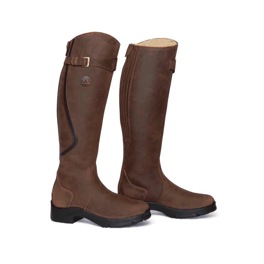 united states detailing online shop Snowy River Womens Riding Boot - Brown