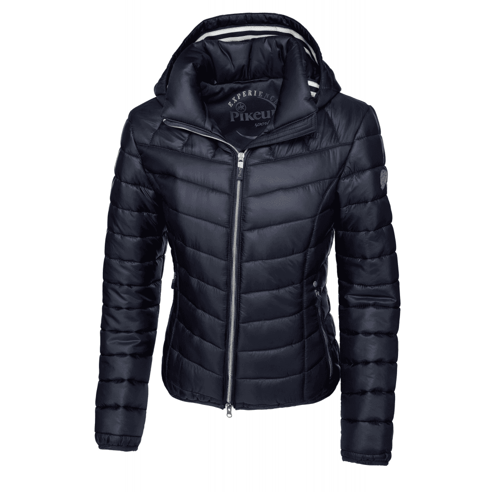 9ccbedaf258c8 Pikeur Cassia Womens Quilted Jacket - Navy Blue - Clothing from ...
