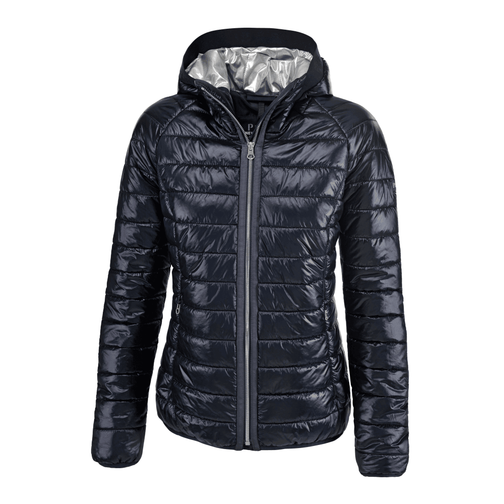 2019 best discount shop sports shoes Hariet Womens Quilted Jacket - Navy Blue