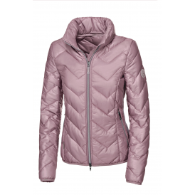 Pikeur Tabia Womens Quilted Jacket - Mauve