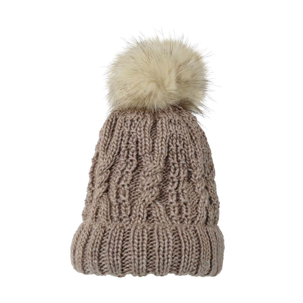 Pikeur Womens Bobble Hat - Light Taupe - Clothing from Oakfield ... ed7fab318a2