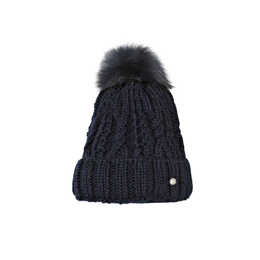 Pikeur Womens Bobble Hat - Navy Blue - Clothing from Oakfield ... 442e54fa9e0