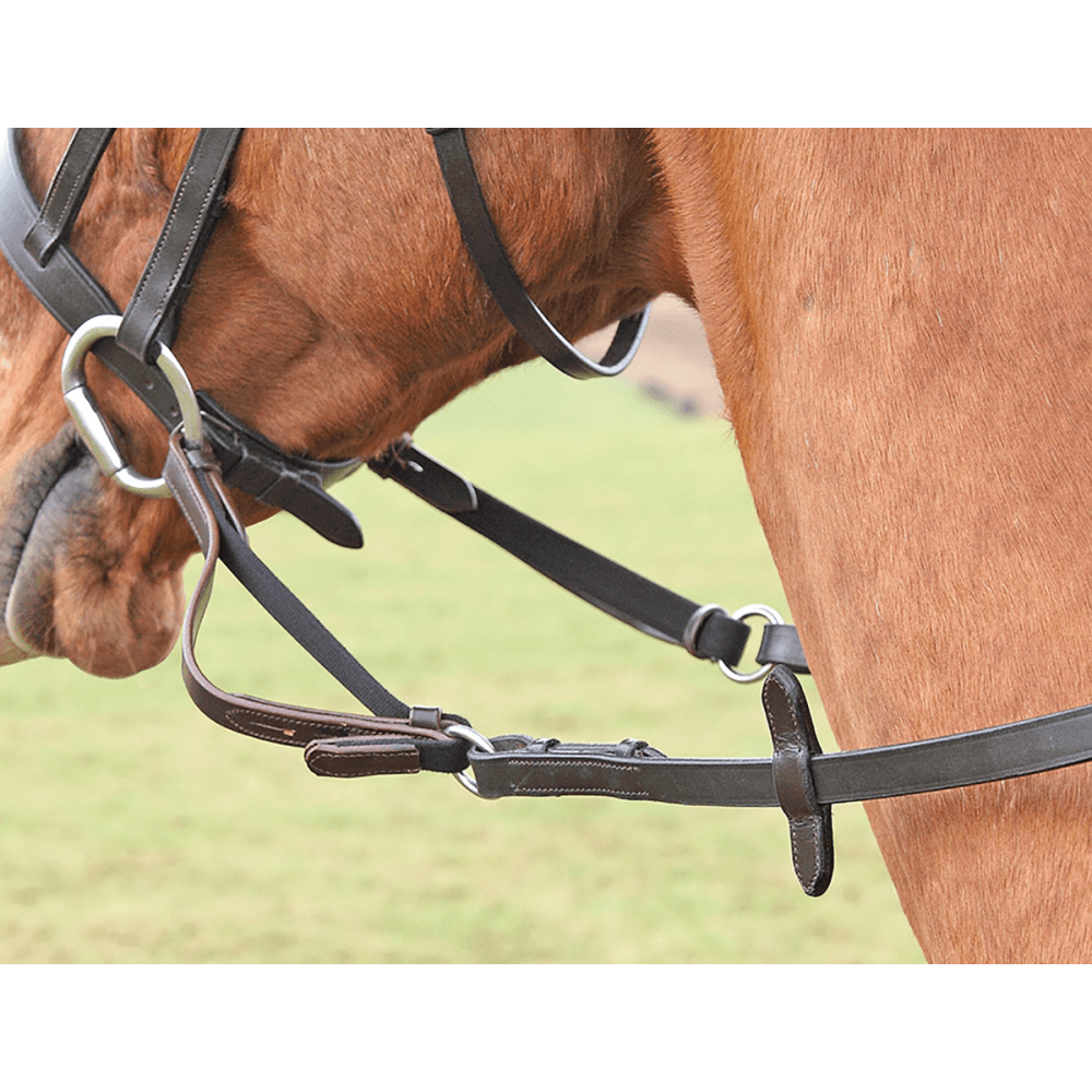 """Shires Aviemore Leather Rubber Soft Grip  Reins in 1//2 X 48/"""" PONY"""