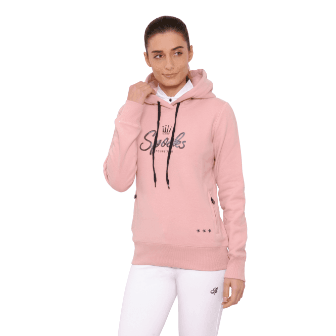 Spooks Lina Womens Hoody - Rose - Clothing from Oakfield