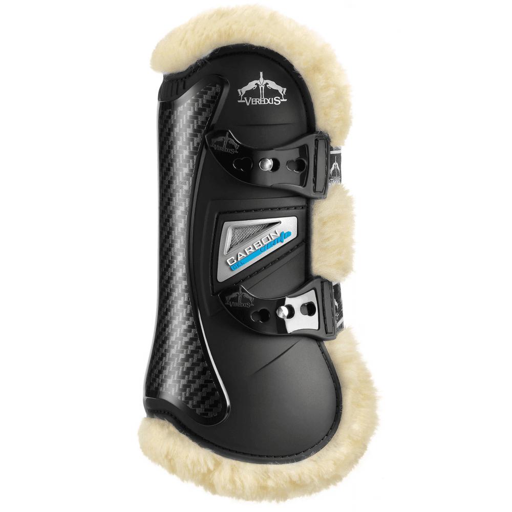 Reit- & Fahrsport-Artikel Veredus Carbon Gel Vento Front Tendon Boots Black